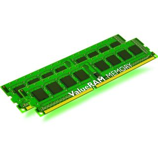 8GB Kingston ValueRAM DDR3-1600 DIMM CL11 Dual Kit