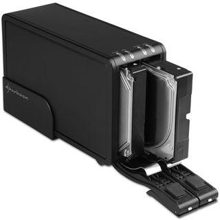"""Sharkoon Vertical Docking Station DUO USB 3.0 für 3,5"""" SAT"""