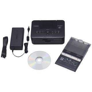 Canon Selphy CP900 schwarz Thermotransfer Drucken USB 2.0/WLAN