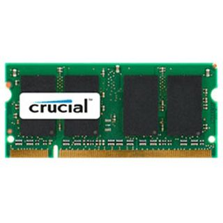 2GB Crucial CT25664AC667 DDR2-667 SO-DIMM CL5 Single