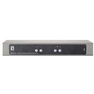 LevelOne KVM-0261 2-fach Desktop KVM-Switch