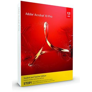 Adobe Acrobat Pro 11 Deutsch Office EDU-Lizenz Mac (DVD)