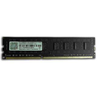 8GB G.Skill Value DDR3-1600 DIMM CL11 Single