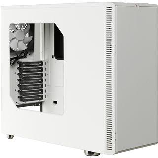 Fractal Design Define R4 Arctic White gedämmt mit Sichtfenster Midi Tower ohne Netzteil weiss