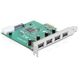 Delock 89253 4 Port PCIe x1 bulk