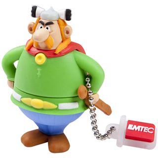 4 GB EMTEC Asterix Serie - Abraracourcix Figur USB 2.0