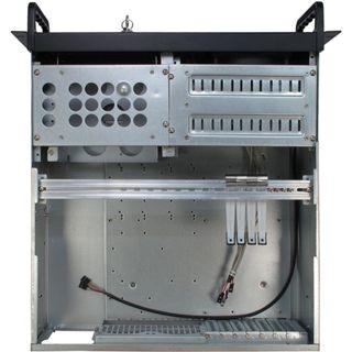 Inter-Tech IPC 4088 4HE ohne Netzteil Schwarz
