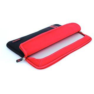 """CoolBananas RainSuit Stripes rot für MacBook Pro 13"""" (33,02cm)"""