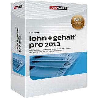 Lexware Lohn + Gehalt Pro 2013 32/64 Bit Deutsch Office Update PC (DVD)