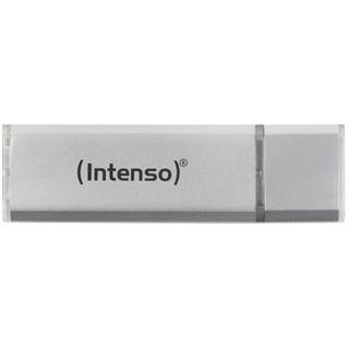 4 GB Intenso Alu Line silber USB 2.0