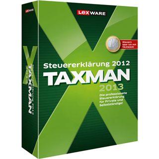 Lexware Taxman 2013 32/64 Bit Deutsch Office Vollversion PC (DVD)