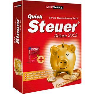 Lexware QuickSteuer Deluxe 2013 32/64 Bit Deutsch Office FPP PC (DVD)