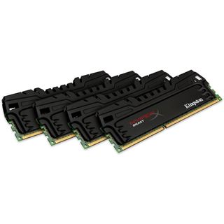 16GB HyperX Beast DDR3-1600 DIMM CL9 Quad Kit