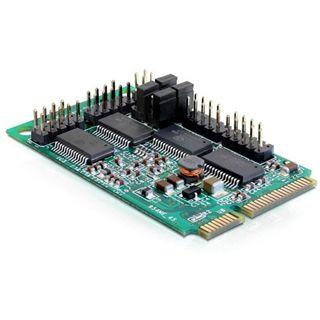 Delock 95001 4 Port PCIe Mini Card retail