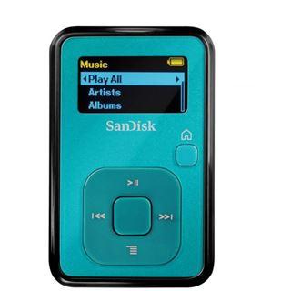 4GB Sandisk Sansa Clip+ Teal retail
