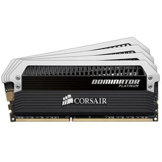 32GB Corsair Dominator Platinum DDR3-1866 DIMM CL9 Quad Kit