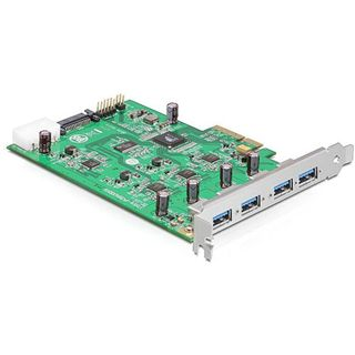 Delock 89325 4 Port PCIe 2.0 x4 bulk