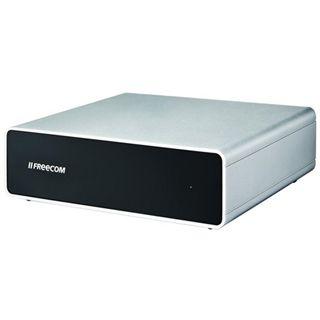 "4000GB Freecom Hard Drive Quattro 3.0 56243 3.5"" (8.9cm) USB 3.0/eSATA/Firewire silber/schwarz"