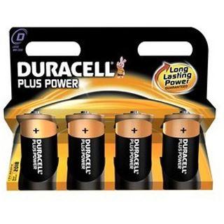 DURACELL DUR Plus Power D 4er