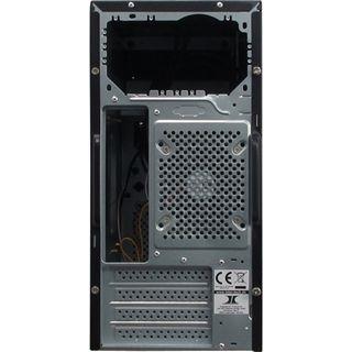 Inter-Tech WN-52 Hydra Mini Tower ohne Netzteil schwarz