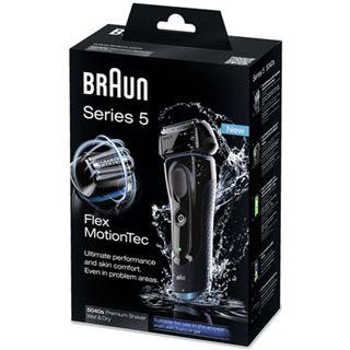 Braun Rasierer Series5 5040s Nass/Trocken sw/bl