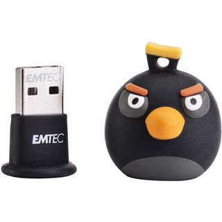 8 GB EMTEC Angry Birds Black Bird Figur USB 2.0