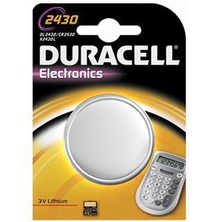 Duracell Electronics CR2430 Lithium 3.0 V 1er Pack