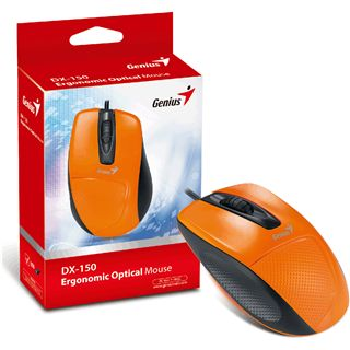 Genius DX-150 USB schwarz/orange (kabelgebunden)