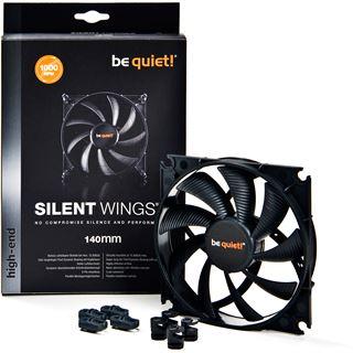 be quiet! Silent Wings 2 PWM 140x140x25mm 1000 U/min 16.4 dB(A) schwarz