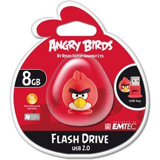 8 GB EMTEC Angry Birds rot USB 2.0