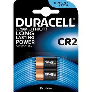 Duracell Ultra CR2 Lithium Batterie 3.0 V 2er Pack