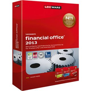 Lexware Financial Office 2013 32/64 Bit Deutsch Office Update PC (CD)