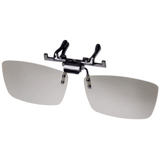 Hama 3D-Polfilterbrille, Clip On, Brillenträger