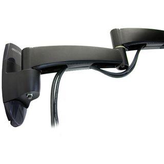 Ergotron 200 Series Dual Monitor Arm Wandhalterung schwarz
