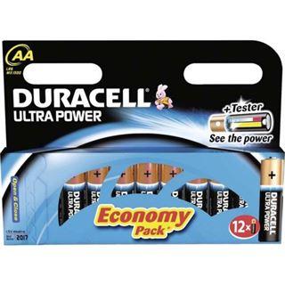 Duracell Ultra Power AA / Mignon Alkaline 1.5 V 12er Pack