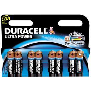 Duracell Ultra Power AA / Mignon Alkaline 1.5 V 8er Pack