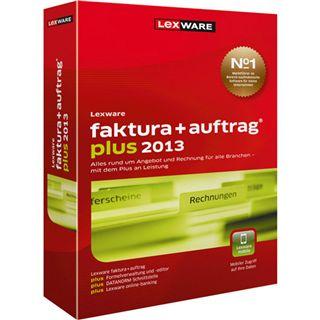 Lexware Faktura + Auftrag Plus 2013 32/64 Bit Deutsch Office Vollversion PC (CD)