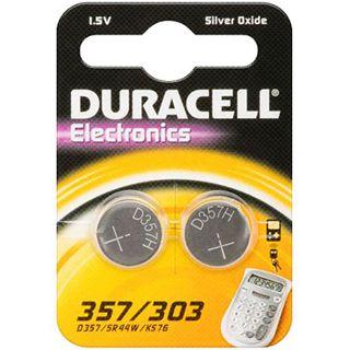 Duracell Knopfzelle SR44 Silber 1.5 V 2er Pack