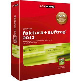 Lexware Faktura + Auftrag 2013 32/64 Bit Deutsch Office Vollversion PC (CD)