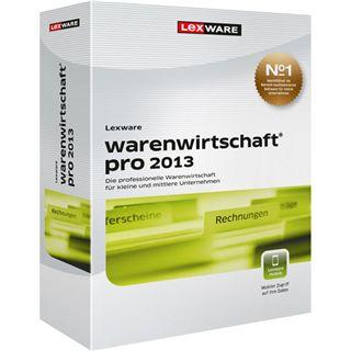 Lexware Warenwirtschaft Pro 2013 32/64 Bit Deutsch Office FPP PC (DVD)