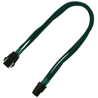 Nanoxia 30 cm grünes Verlängerungskabel für 4-Pin P4 (NXP4V3EG)