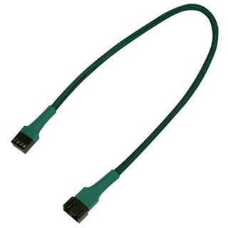 Nanoxia 30 cm grünes Verlängerungskabel für 4-Pin PWM (NXPWV30G)