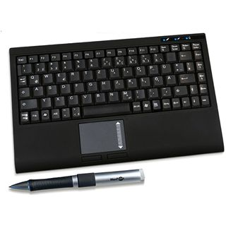 KeySonic ACK-340 BT Bluetooth Englisch schwarz (kabellos)