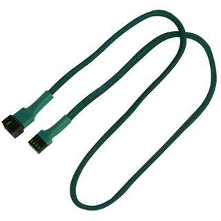 Nanoxia 60 cm grünes Verlängerungskabel für 4-Pin PWM (NXPWV60G)