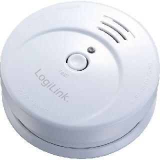 Logilink Rauchmelder lautes Alarmsignal 85dB EN14604