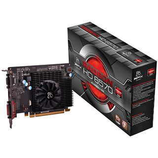 1GB XFX Radeon HD 6570 Aktiv PCIe 2.1 x16 (Bulk)