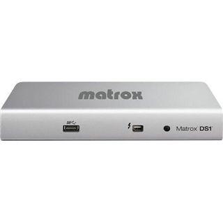 Matrox DS1 Thunderbolt Docking Station für Macbook / Macbooks Pro (DS-1 DVI)