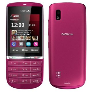 Nokia Asha 300 pink