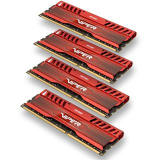 16GB Patriot Viper 3 Series Venom Red DDR3-1866 DIMM CL9 Quad Kit