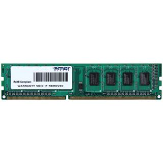 4GB Patriot Signature Line DDR3-1600 DIMM CL11 Single